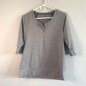 PL Movement Gray Stripe Shirt Size Medium